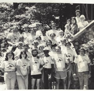 Camp Crosley Staff 1979