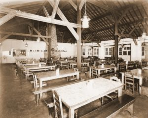 Camp Crosley historic dining hall