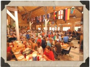 Our dining hall is one of the oldest and most beautiful buildings on camp. It's full of life, energy, and, of course, great food!