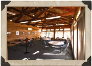 Meeting room of the Camp Crosley Lakeview Conference Center