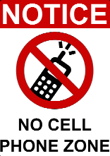 Please do not send your camper to camp with a cell phone.