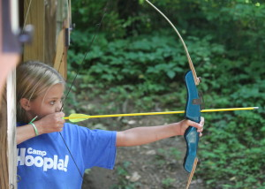 Camp Crosley YMCA archery