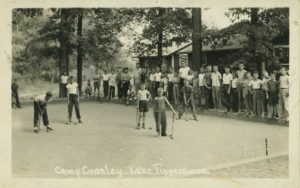 Camp Crosley Centennial Croquet tournament