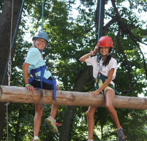 Camp Crosley YMCA high ropes course