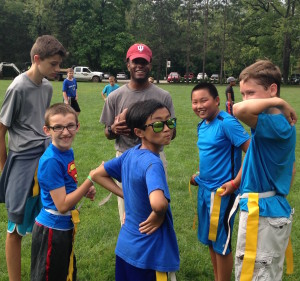 Camp Crosley flag football