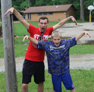Camp Crosley YMCA International Staff brings fun to camp.